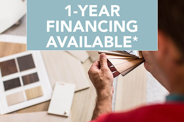 1-Year Interest Free Financing Available!